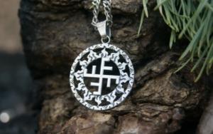 Восстановление духовной силы при помощи амулета Славянский (Небесный) крест