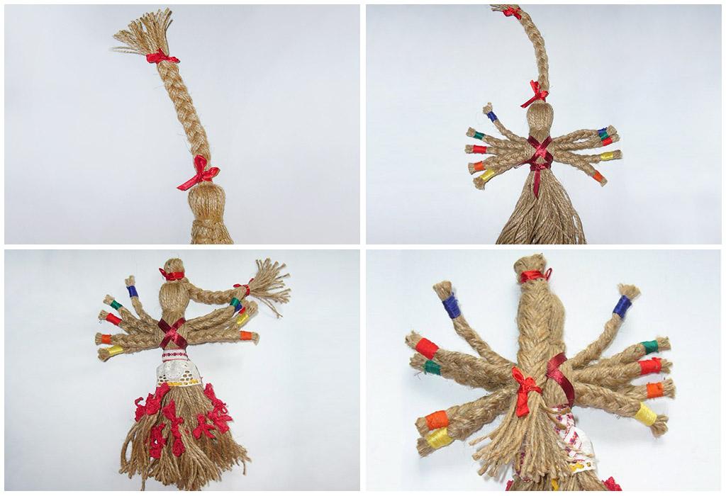 Значение куклы Десятиручки у славян, изготовление оберега своими руками